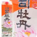 【清酒】司牡丹酒造 本醸造酒 金凰司牡丹(上撰) パック 1800ml