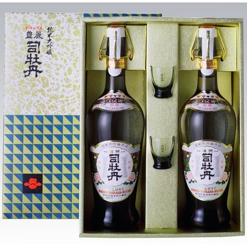 司牡丹 デラックス(セット・グラス付)