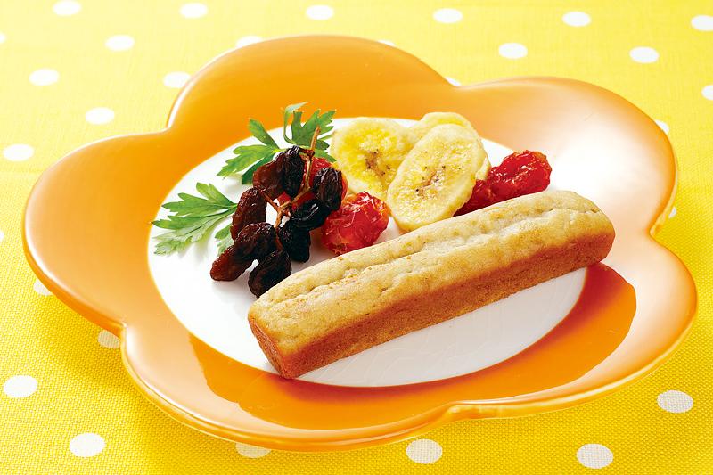 お米deバナナのスティックケーキ