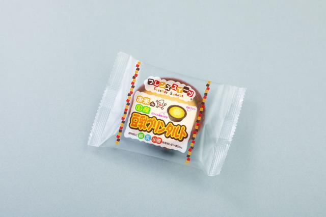 お米de豆乳プリンタルト