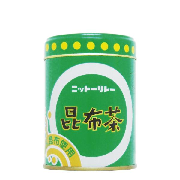 昆布茶 80g缶 【0110】