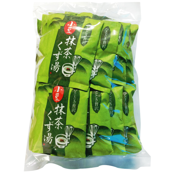 小豆抹茶くず湯 徳用30袋 【C014】【12】