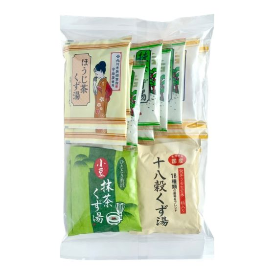 【ネコポス送料無料 1000円ポッキリ】くず湯セット 全5種 22袋 飲み比べ 【C003】【12】