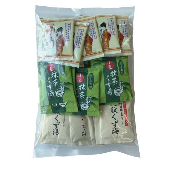 こだわりくず湯3種アソート 徳用30袋 【C027】