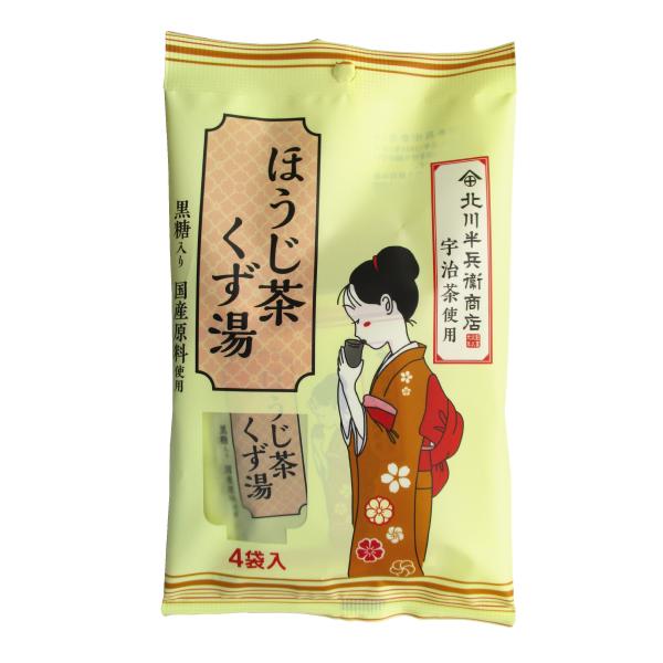 ほうじ茶くず湯 16g×4袋 【9085】【3】
