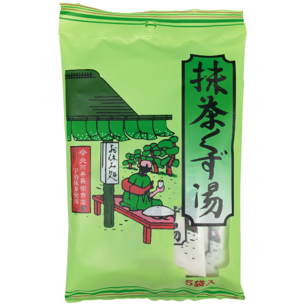 抹茶くず湯 15g×5袋 【9072】 【3】