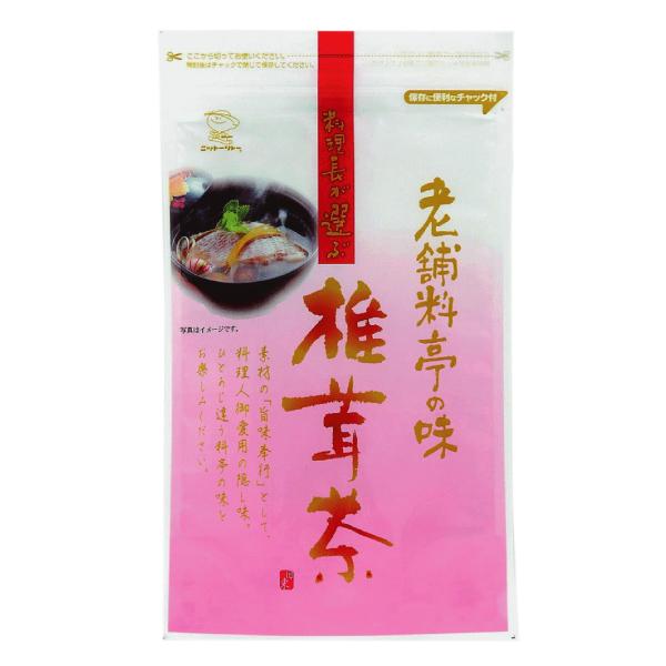 料理長が選ぶ 老舗料亭の味 椎茸茶 50g 【0712】【6】