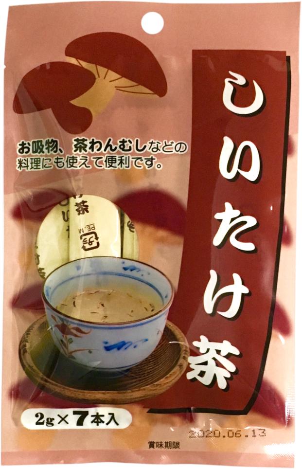 しいたけ茶 2g×7本 【0733】