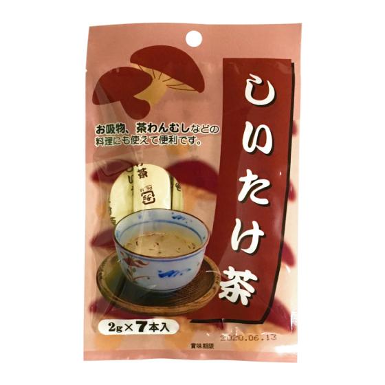 しいたけ茶 2g×7本 【0733】【2】