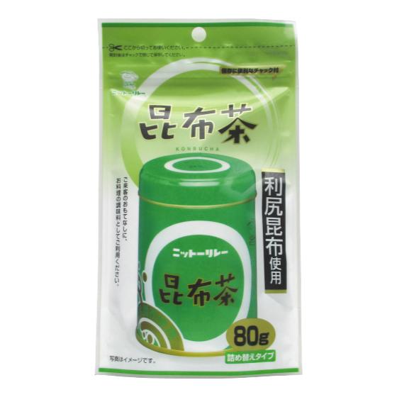 昆布茶 スタンドパック 80g袋(詰め替え用)【0131】【2】