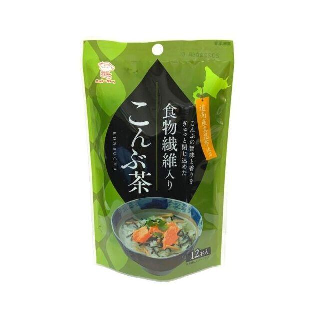 食物繊維入りこんぶ茶  2.3g×12本 【0155】【4】