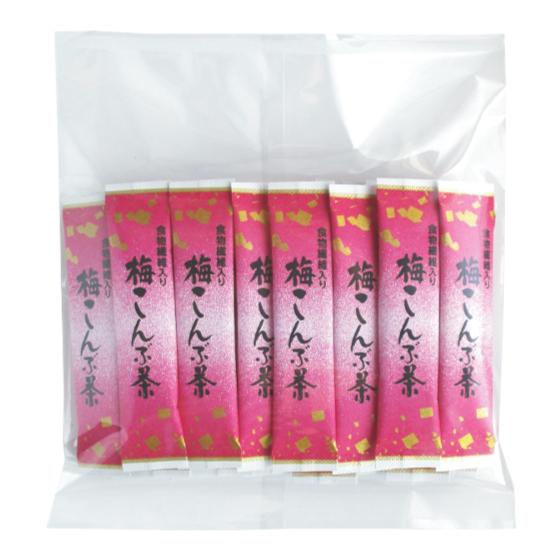 食物繊維入り梅こんぶ茶 2.3g×25本 【A044】【6】