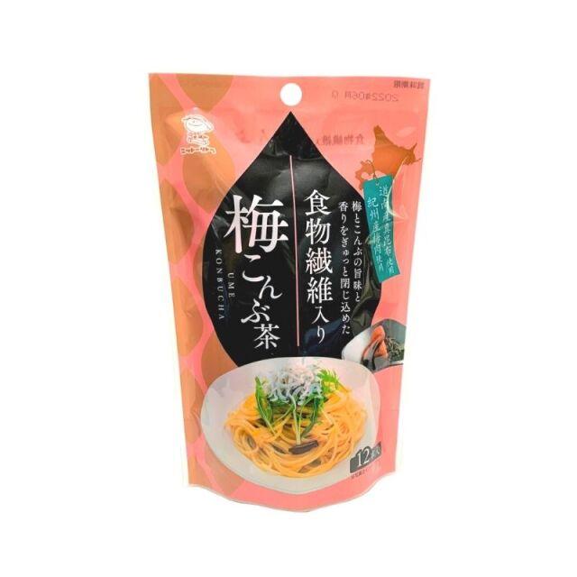 食物繊維入り梅こんぶ茶  2.3g×12本 【0655】【4】