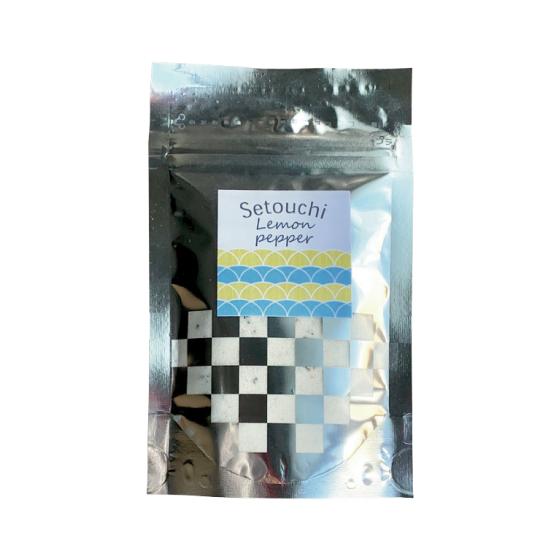 【ネコポス送料無料】瀬戸内レモンペッパー 75g袋 粉末 スタンドパック【F001】