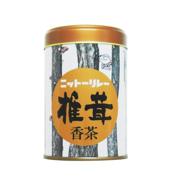 椎茸香茶100g缶 【0711】