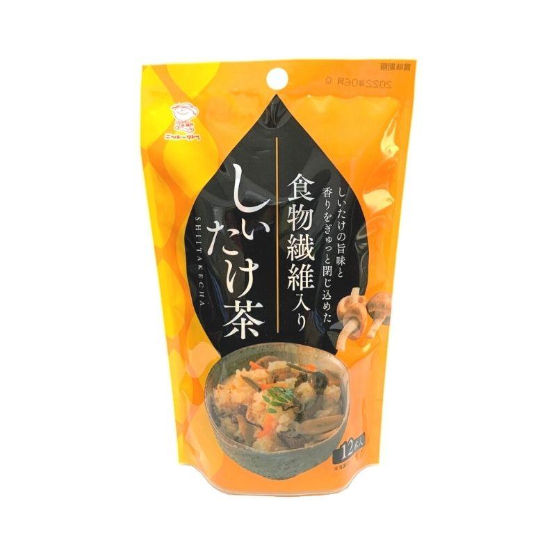 食物繊維入りしいたけ茶 2.3g×12本 【0755】【4】