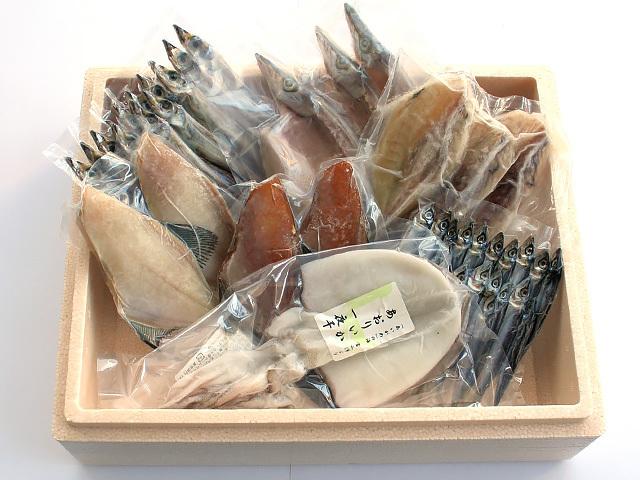特選無添加干物セット「大波(おおなみ)」 箱