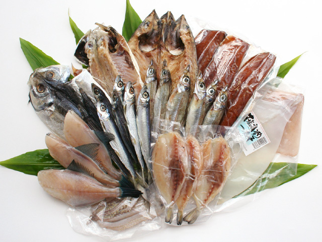 特選無添加干物セット「漁火(いさりび)」