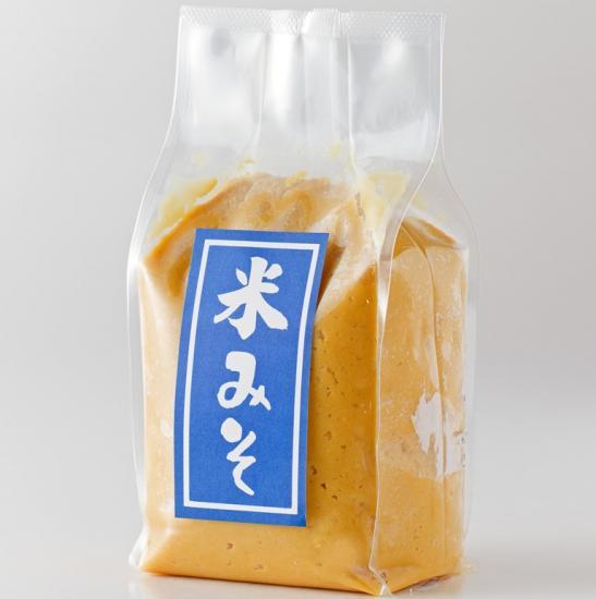 取り寄せ商品 マルイ 米味噌 1k 坪水醸造