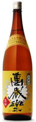 萬歳楽 (小堀酒造店) 本醸造 花伝   1.8L箱なし