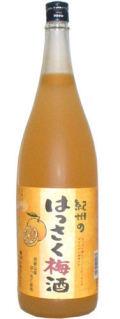 紀州 はっさく梅酒 1.8L箱なし