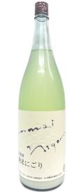 白藤酒造 夏越酒 純米にごり1800ml