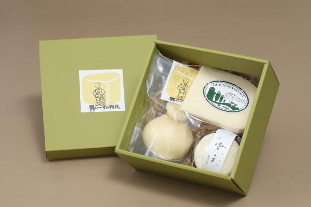 人気チーズ3種