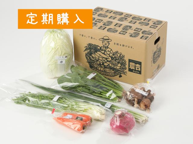 【定期便】ふたりで野菜セット