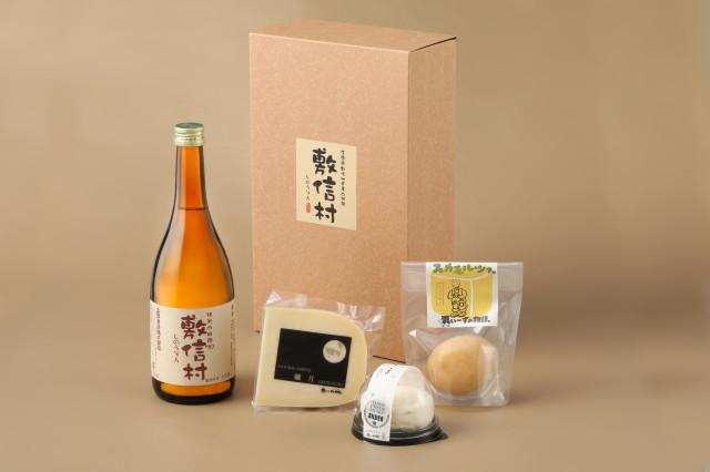 【ギフト】日本酒とチーズ