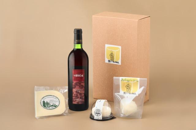 【ギフト】ワインとチーズ