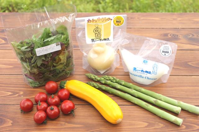 【夏ギフト】野菜と楽しむチーズセットB