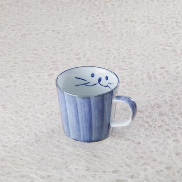 猫,マグカップ,ティータイム