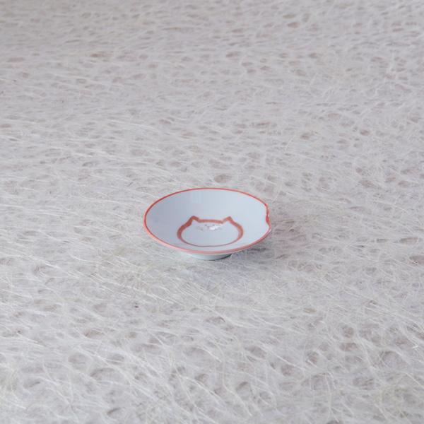 猫,和,箸置き小皿