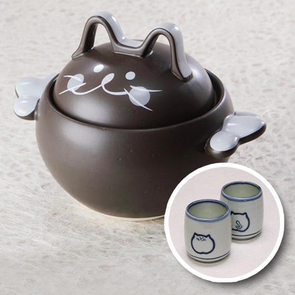 仔猫鍋,茶,湯呑み,222,にゃんにゃんにゃん,猫食器