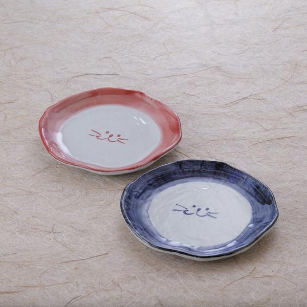 ペアデザート皿