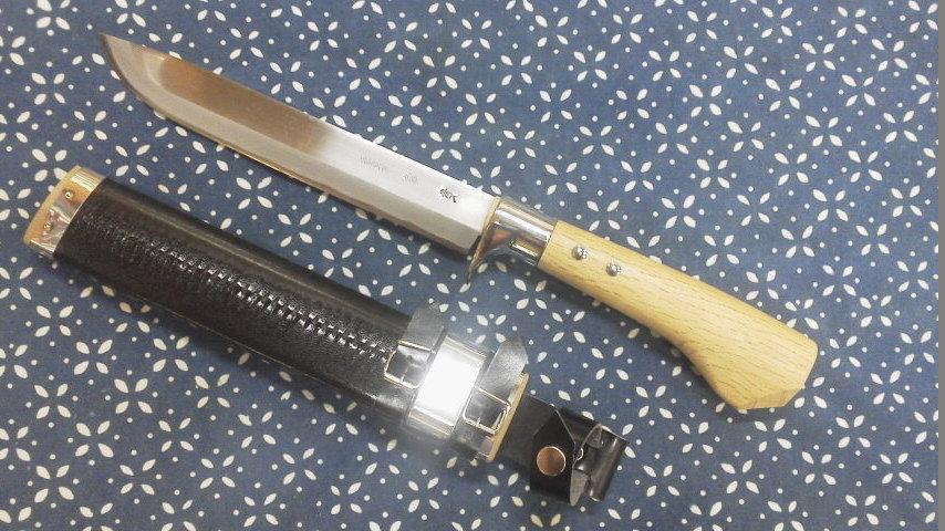 剣なた木鞘210-1