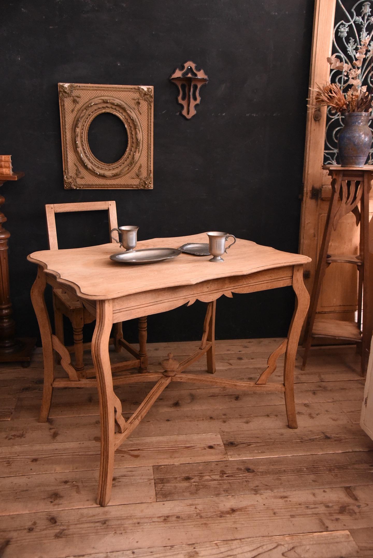 猫脚 剥離 テーブル フランス アンティーク