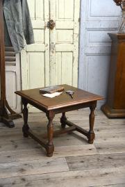 アンティーク 木製 コーヒーテーブル ローテーブル 無垢
