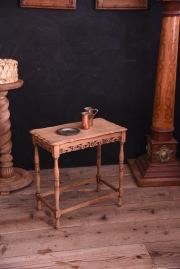 アンティーク 剥離 サイドテーブル フレンチ 飾り台