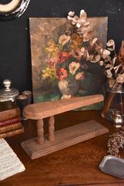 アンティーク 木製アイロン台 小