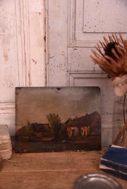 絵画 風景画 フランス アンティーク