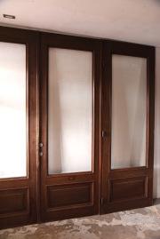 アンティーク ガラス ドア フレンチ 扉 カフェ