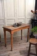 アンティーク カフェテーブル ビストロテーブル フレンチ 木製