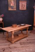 アンティーク 木製 コーヒーテーブル センターテーブル フレンチ 無垢