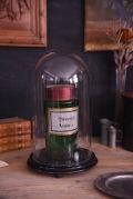 アンティーク フレンチ ラウンド ガラスドーム