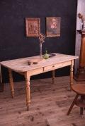 アンティーク ドロワー ダイニングテーブル 木製 フレンチ