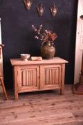 アンティーク フレンチ 木製 ボックス トランク サイドテーブル