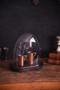 アンティーク オーバル ガラスドーム フレンチ ディスプレイ 1
