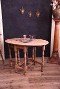 アンティーク ゲートレッグ テーブル 剥離 オーク材 イギリス フレンチ