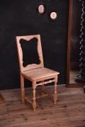 アンティーク チャーチチェア フレンチ 木製 3
